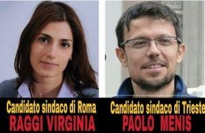 CANDIDATI SINDACI ROMA E TRIESTE